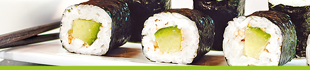 Vegetarische Makis