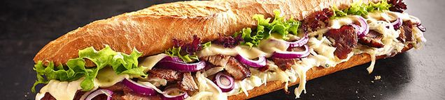 Baguettes inkl. Dressing nach Wahl