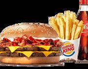 Bacon KING Menü