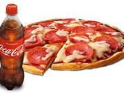 Pizza Salami, Medium + Coca-Cola, 0,5 l