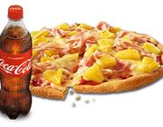Pizza Waikiki, Medium + Coca-Cola, 0,5 l