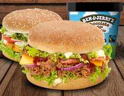 Ben & Jerry´s Kombo Burger für zwei Personen