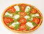 Pizza Mozzarella und Rucola