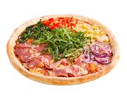Fussball Jumbo Pizza