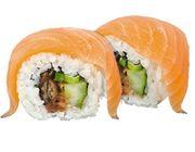 Sushi-Dienstag: Sake Deluxe Roll, 8 Stück