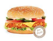 Hot Crunchy Cheese Burger