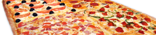 Party-Pizza 60x40cm