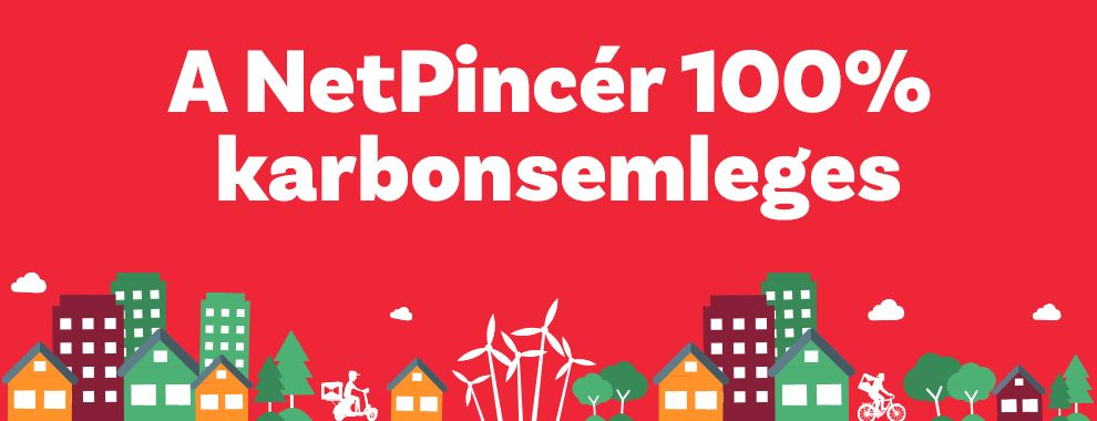 A NetPincér 100% karbonsemleges