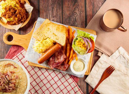 Papa pig 早午餐