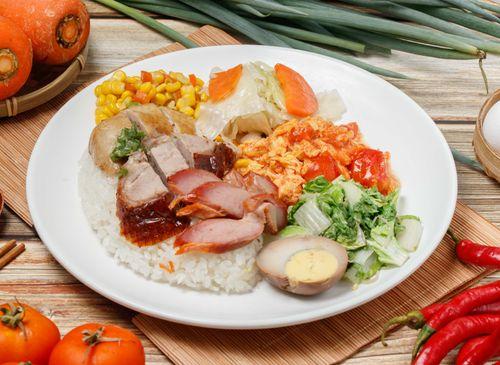 香港帝苑燒臘快餐