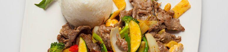 Gerichte mit Rindfleisch  - Cocos einfach asiatisch