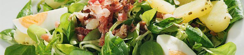 Salate - Zu den 3 goldenen Kugeln