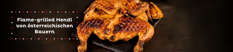 Flame-Grilled Hendl - Holy Chicken - flame-grilled Hendl