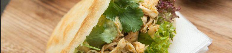 Schweinefleisch - La Piraña - Latin American Fast Food