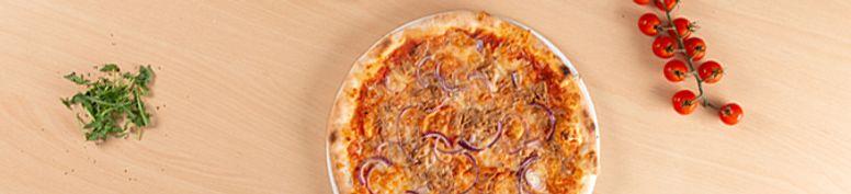 Pizza mit Fisch - Bon Appetit