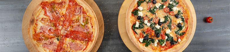 Minipizza mit Fleisch (26cm) - Bellagio Uni4tel