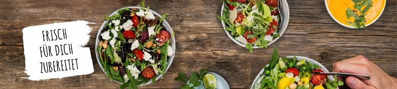 Salads - Blattgold - Salads, Bowls, Curries & Wraps