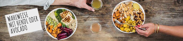 Bowls - Blattgold - Salads, Bowls, Curries & Wraps