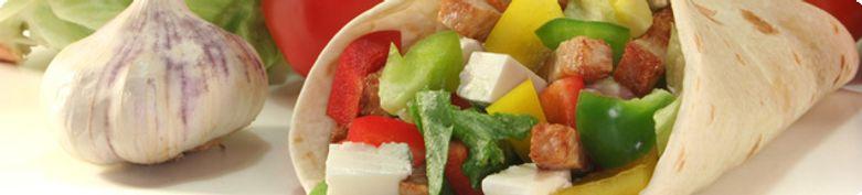 Vegane Wraps - I love Veggie Burger