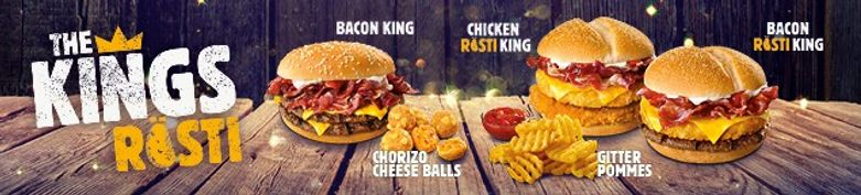 JETZT NEU - The Kings Rösti - Burger King