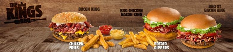 JETZT NEU - The Kings BBQ - Burger King