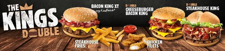 JETZT NEU - The Kings Double - Burger King