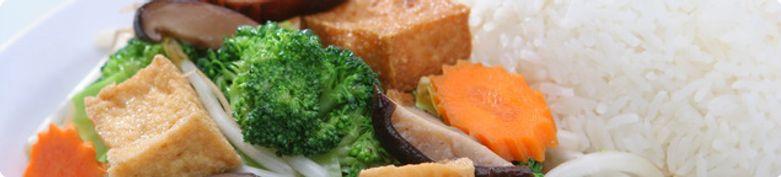 Gebratene Reisgerichte  - 5 Elemente