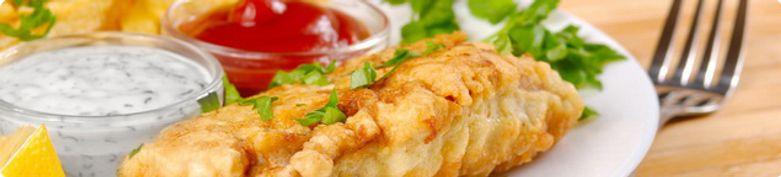 Fischgerichte - Hawaii Pizzaservice