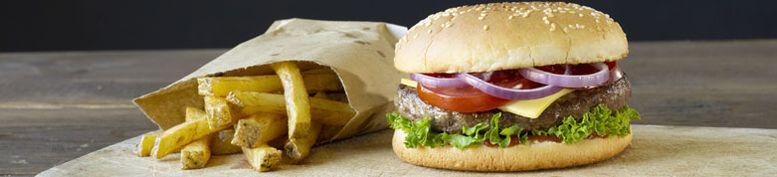 Burger Menü  - Schnipi Schnitzel und Pizzazustellservice