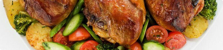 Grillgerichte - Ayam Zaman