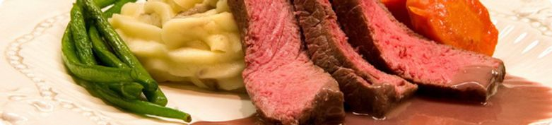 Carne di manzo - Gerichte vom Rind  - Restaurant Casa Antica