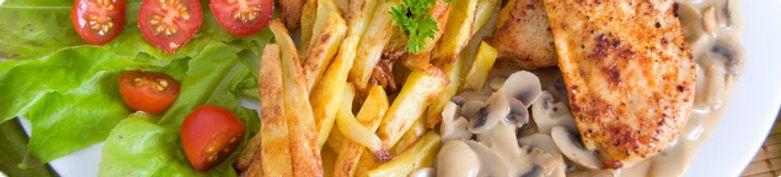 Familienplatte - Schnitzel & Burger Boy