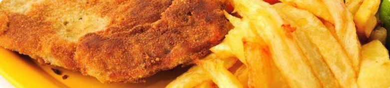 Schnitzel vom Schwein - Blitz Burger House