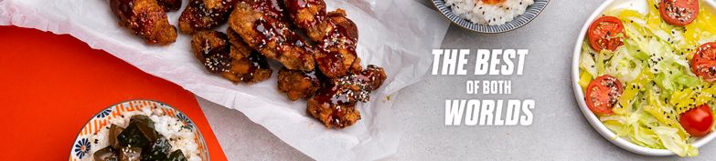 Korean Fried Chicken Combos - Gangnam Kitchen - Korean Fried Chicken