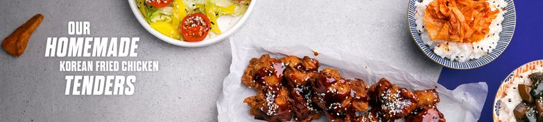 Korean Fried Chicken Tenders - Gangnam Kitchen - Korean Fried Chicken