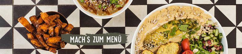 Baba Noni Menüs - Baba Noni - Modern Oriental Kitchen