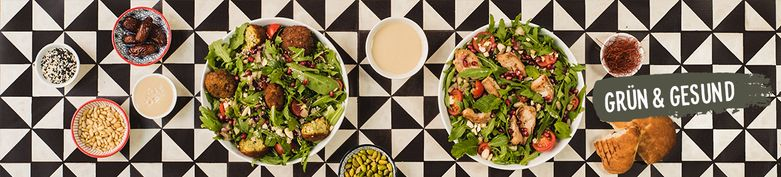 Noni-Salate - Baba Noni - Modern Oriental Kitchen