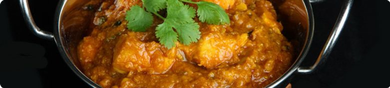 Hühnerfleischgerichte - Curry Hut