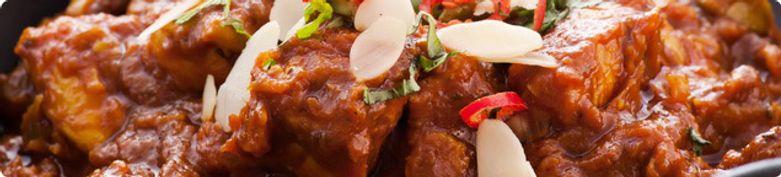 Gerichte vom Schwein - Mahal-Palace