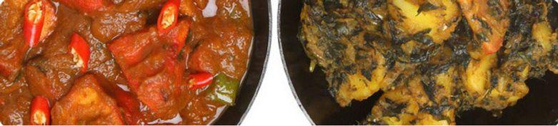 Gemüsegerichte - Curry Lanka