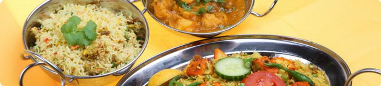 Indische Gerichte - Restaurant bei Manuel