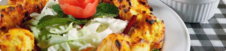 Hühnergerichte  - RAJ MAHAL Indisches Restaurant