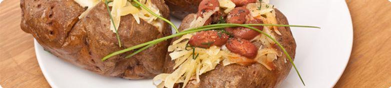 Patatas Ofenkartoffeln - Pizzeria Siciliana