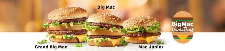 JETZT NEU - Big Mac Variations - McDonald's