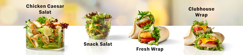 Wraps & Salate  - McDonald's