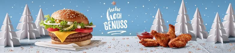 JETZT NEU - Hohohochgenuss  - McDonald's