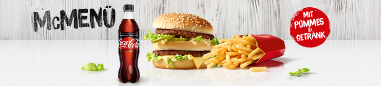 WIEDER DA! - McMenü - McDonald's
