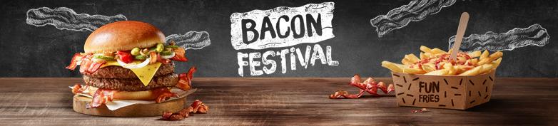 JETZT NEU - Bacon Festival - McDonald's