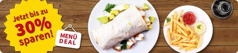 Menü Deal - Restaurant Taqueria