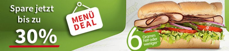 Menü Deal - Subway Linz